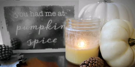 Salon /blis/ Pumpkin Spice And Everything Nice Candle Pour Party! tickets