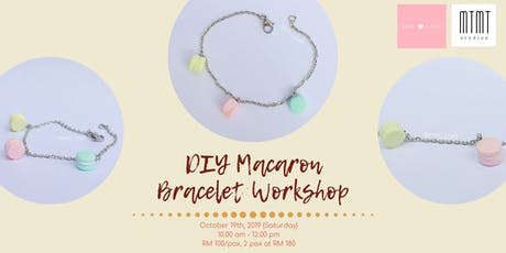 DIY Macaron Bracelet Workshop tickets