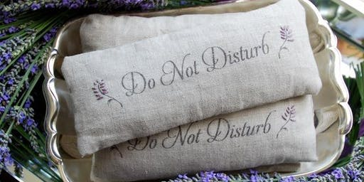 All About Lavender - Eye Pillow Make n Take