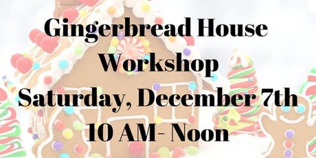 Gingerbread House Workshop (Family Event) tickets