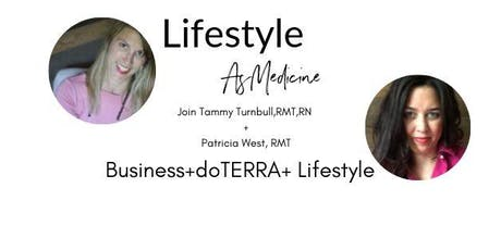 Lifestyle is Medicine- doTERRA as a business tickets