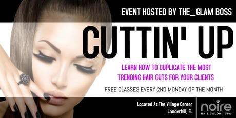 Cuttin Up - Learn how to cut the most trending hair styles - Live demo tickets