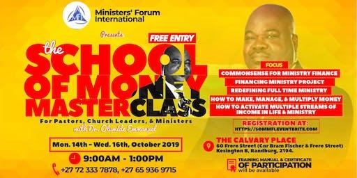 THE SCHOOL OF MONEY MASTERCLASS