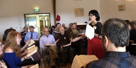 Sacred Harp Practice Singing tickets