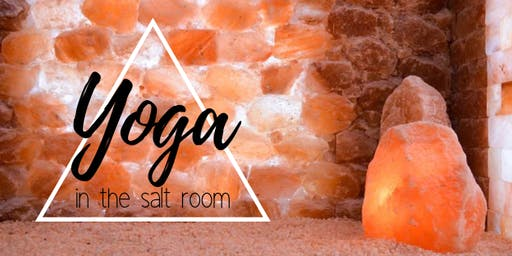 Yoga in the Salt Room