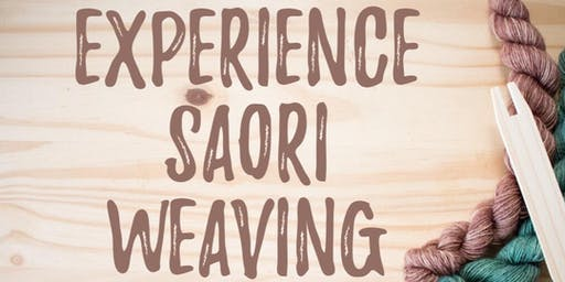 Experience Saori Weaving with Kathleen Utts
