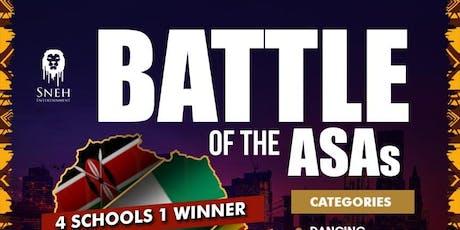 BATTLE OF the ASAs  2019 tickets
