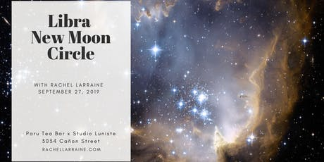 New Moon Circle in Libra tickets