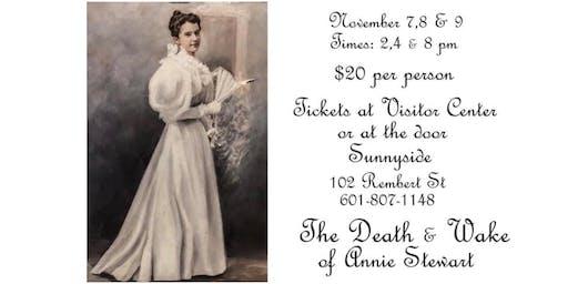 The Death & Wake of Annie Stewart Reenactment