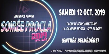 Soirée Procla 2019 (1994 & 2009) billets