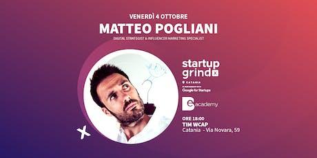 Startup Grind Catania incontra Matteo Pogliani biglietti