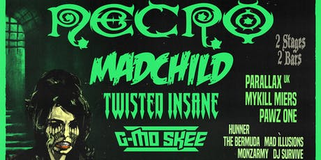 """""""Night of the Living Dead"""" w/ Necro, Madchild, Twisted Insane, G-Mo Skee tickets"""