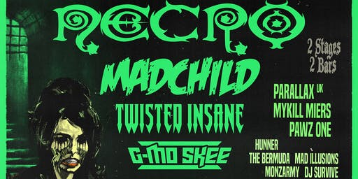 """Night of the Living Dead"" w/ Necro, Madchild, Twisted Insane, G-Mo Skee"