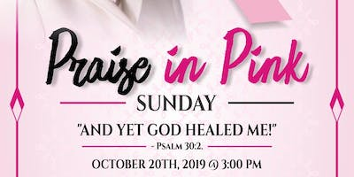 Praize in Pink 2019