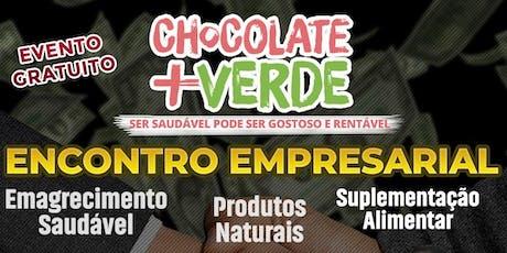 Alimentação Saudável um Mercado em Crescimento - Chocolate mais Verde RJ ingressos