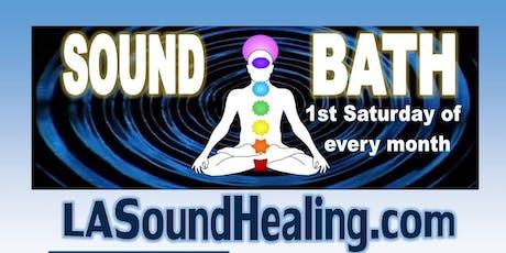 Sound Bath with Monique Hitzman tickets