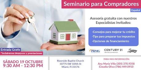 Seminario: Mi Casa  tickets