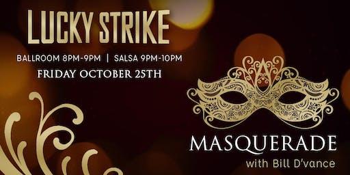 Halloween Masquerade Ballroom & Salsa Dance Night