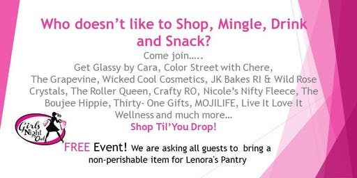 Girls Night Out Pop up Shop!