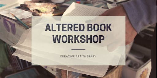 Altered Book Workshop - Let Go of Limiting Beliefs, Rewrite Your Story