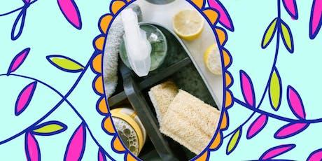 Taller para elaborar tus productos de limpieza libres de tóxicos en Mercado Cero boletos