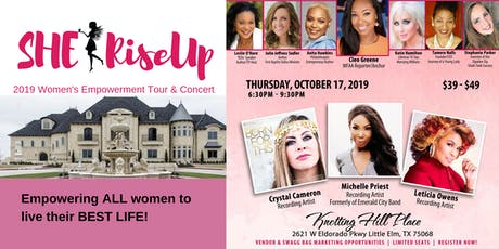 "SHE RiseUp ""2019""  Women's Empowerment Tour & Concert tickets"