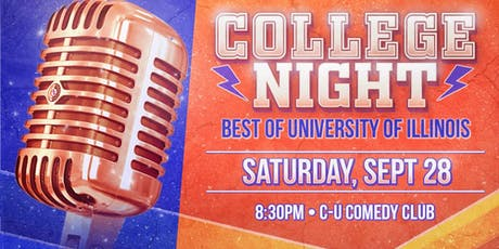College Night at C-U Comedy Club tickets