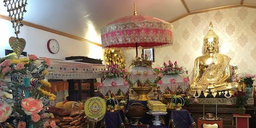Kathina at Wat Luang Phor Pha Ngao