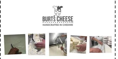 Cheese making workshop with Burts cheese