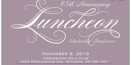 The Hour-A-Day Study Club's 85th  Anniversary Luncheon tickets