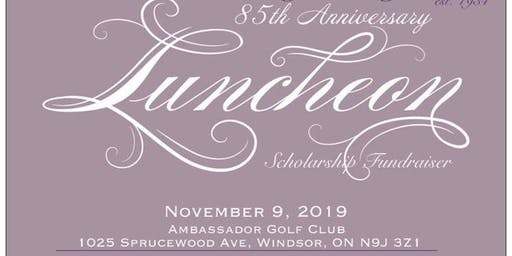 The Hour-A-Day Study Club's 85th  Anniversary Luncheon