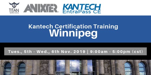 Winnipeg Kantech CE Certification - Anixter