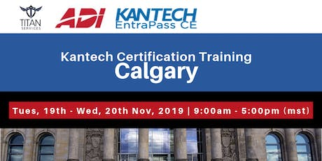 Calgary Kantech CE Certification - ADI tickets