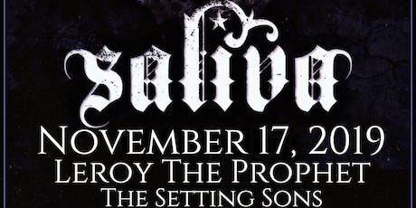 Saliva at The Rail Club Live tickets