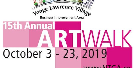 15th Annual Art Walk- featuring artist, Susan L. Brown tickets