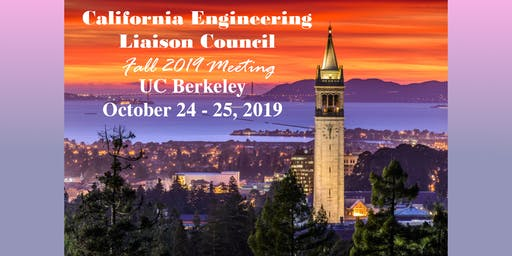 California Engineering Liaison Council meeting - Fall 2019
