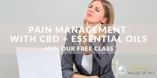 Pain Management with CBD + Essential Oils