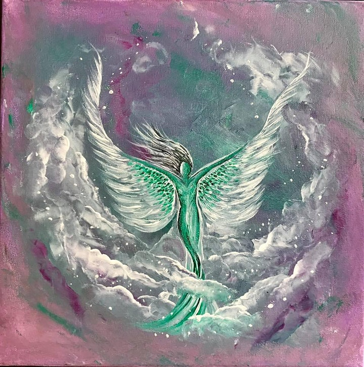 Spiritual Art and Altered States Workshop with UK Medium Shelley Youell image