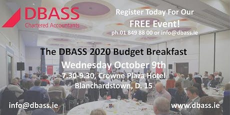 DBASS Budget 2020 Business Owners Breakfast tickets