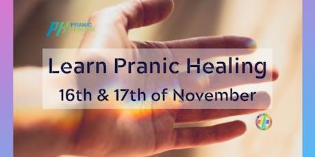 Learn Pranic Healing tickets