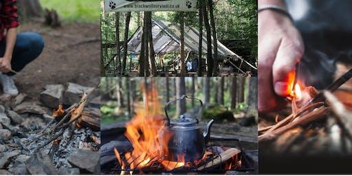 Secret Woodland Firelighting Skills Day.