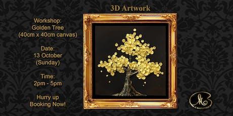 Workshop (3D Artwork): Golden Tree tickets