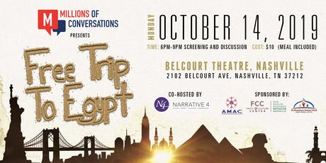 Millions of Conversations Presents, Free Trip to Egypt tickets