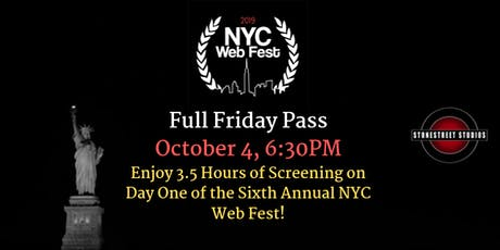 Friday Pass ~ 2019 NYC Web Fest tickets