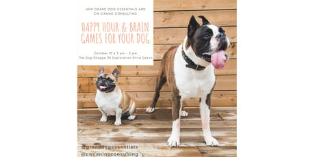 Happy Hour & Brain Games for Your Dog tickets