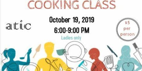 Cooking Class tickets