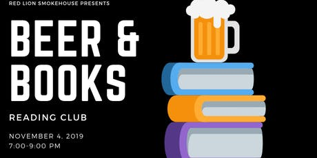 Beers & Books (November 2019) tickets