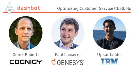 Optimizing Customer Service Chatbots - Tips from the Experts tickets