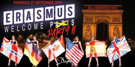 ★ Erasmus Welcome Party 2: All UNI★ billets