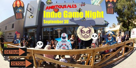 Ambitious Indie Game Night tickets